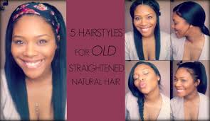 ideas hairstyles for straight natural hair hairstyles to do ideas of 5 hairstyles for