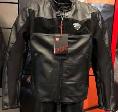 ducati by dainese company c2 perforated leather jacket blk eur 56