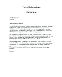 Legal Character Reference Letter Template Court Valid Freee