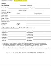 Party List Template Event Guest List Template Wedding Guest List Template Printable