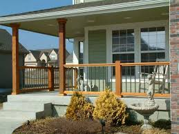 front porch railing ideas and post perfect front porch railing