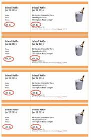 Raffle Ticket Template Publisher Instructions For Creating Numbered Raffle Tickets In Word Or