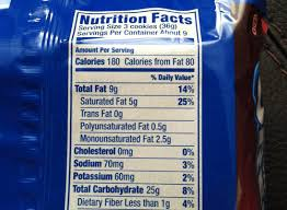 raspberry oreo fudge cremes nutrition facts