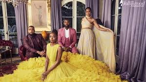 kiki layne second from left and regina king with