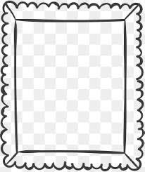 square black frame png. Black Frame Transparent, Pretty Black Frame, Blind Square Png R