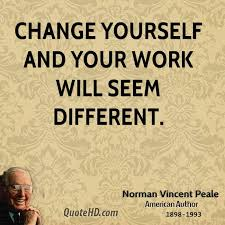 Quote About Change Gorgeous Norman Vincent Peale Work Quotes QuoteHD