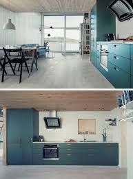 Teal Kitchen Kitchen Design Idea Deep Blue Kitchens Contemporist