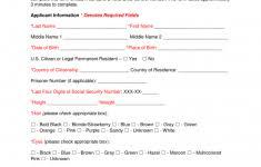 Criminal Record Template Free Fbi Criminal Background Check Form Pdf Eforms Gun Oregon