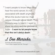 Quotes About Cancer Magnificent Quotes Cancer Positive