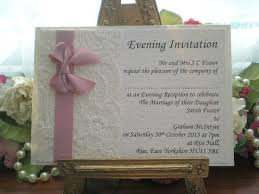the 25 best evening wedding invitations ideas on pinterest Buy Evening Wedding Invitations k0031 chanel dusky pink ivory lace satin evening invitation, vintage lace wedding cards available from Luau Wedding Invitation Templates