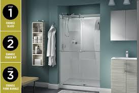 shower door design installation
