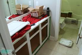 painting bathroom cabinet. When Painting Cabinets, Prime Everything Including The Cabinet Bases, Doors And Drawers. Use Bathroom