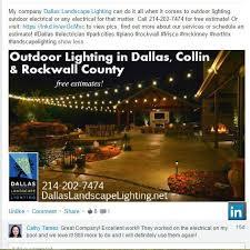 linkedin dallas landscape lighting review 2 md