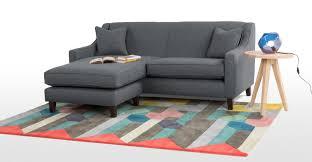 small corner furniture. halston a corner sofa in charcoal weave small furniture n
