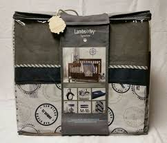 UPC 084122591141 - Lambs & Ivy Signature Mason 4 Piece Bedding Set  Model:23000325 | upcitemdb.com