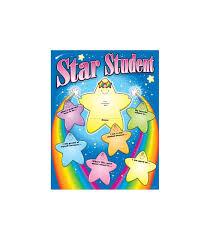 Star Student Chart Star Student Chart