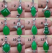 whole tibet silver green jade malay jade pendant necklace girl boy pendants 925 silver necklaces bridal jewelry for wedding engagement gift cat pendant