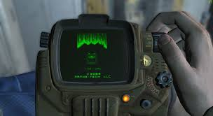 Fallout New Vegas Pip Boy Light Doom Is Now Playable On The Fallout 4 Pipboy Fallout Pip