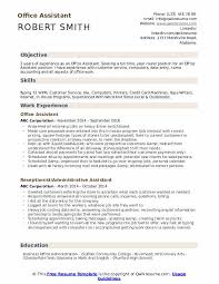 Office Assistant Duties On Resume Office Assistant Resume Samples Qwikresume