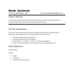 Career Objective Resume Sample Professional For Russiandreams Info