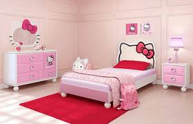 furniture for girl room. kids girl room furniture ideas using pink hello kitty bedset and dresser with for