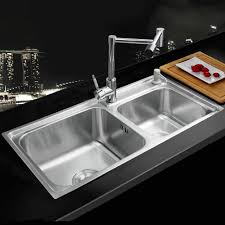 stainless steel sinks for sale.  Sale Aliexpresscom  Buy KEMAIDI Kitchen Stainless Steel Sink Vessel  Washing Dishes Double Bowl SS 98528 4110 Brass Swivel Vanity Faucet Sets From  Inside Sinks For Sale R