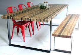 metal and wood dining table dining table legs metal metal dining table legs black reclaimed wood