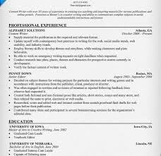 Writers Resume Example Technical Writer Resume Examples