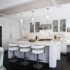 modern white kitchens with dark wood floors. Unique Kitchens Modern White Kitchen On Kitchens With Dark Wood Floors