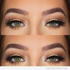 amazing brows to make your green eyes pop