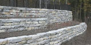 large newmarket retaining wall stone retaining wall k27