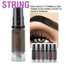 String <b>Pudaier</b> 6 Colors Henna <b>Eyebrow Gel</b> Waterproof Tint ...