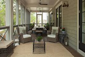 screened in porch furniture. Image By: Geoff Chick Associates Screened In Porch Furniture