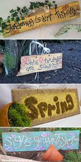 creative garden sign ideas and projects lots of great ideas and tutorials including