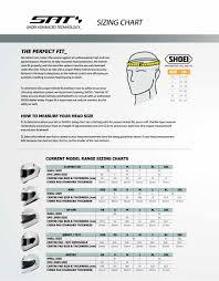 Motorcycle Helmet Size Chart Shoei Disrespect1st Com