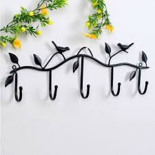 Bird Coat Rack Hat Key Holde Clothes Hook Wall Hanger Bird Bathroom Home Decor 98