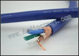 mca map ac2 power cable silver and ofc mix conductor for diy cable usd30