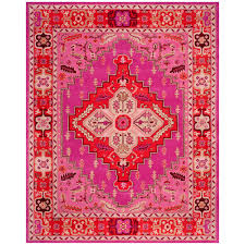 safavieh bellagio red pink 8 ft x 10 ft area rug