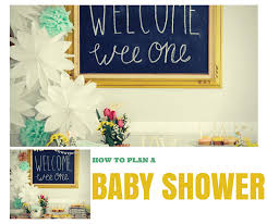 How To Plan A Baby Shower In 11 Steps Cheekytummy