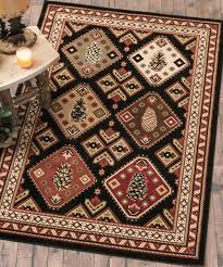log cabin rug cabin lodge rug collections log cabin kitchen rugs