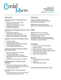 Student resume and get inspiration to create a good resume 5