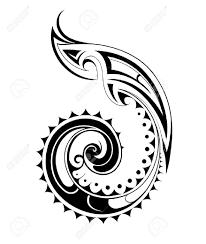 47262256 Vector illustration for Maori ethnic tattoo template Stock Vector vector illustration for maori ethnic tattoo template royalty free on spiral pattern template
