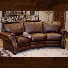 western leather sofas. Simple Leather BrumbaughsNewProducts_0133_Brown Leather Sofa With Croc Accents On Western Sofas