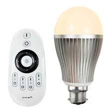 Remote Control Light Bulbs Uk Colour Temperature Adjustable Led Light Bulb With Remote Control