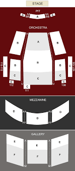 Byham Theater Pittsburgh Pa Seating Chart Stage