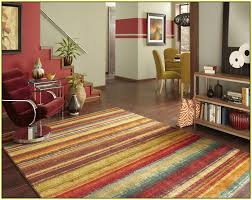 awesome multi colored striped area rug home design ideas intended in rugs plan 3