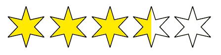 Billedresultat for stjerner symbol 3,5