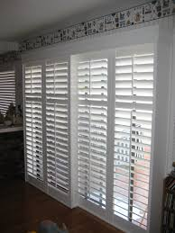 sliding glass patio doors with built in blinds. Sliding Glass Patio Door Built In White Shutter Blinds Mixed With Doors T