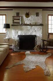 painted rock fireplace danny seo rue bear skin rugbear