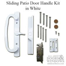 pella patio door handle kit thermastar vinyl sliding door white
